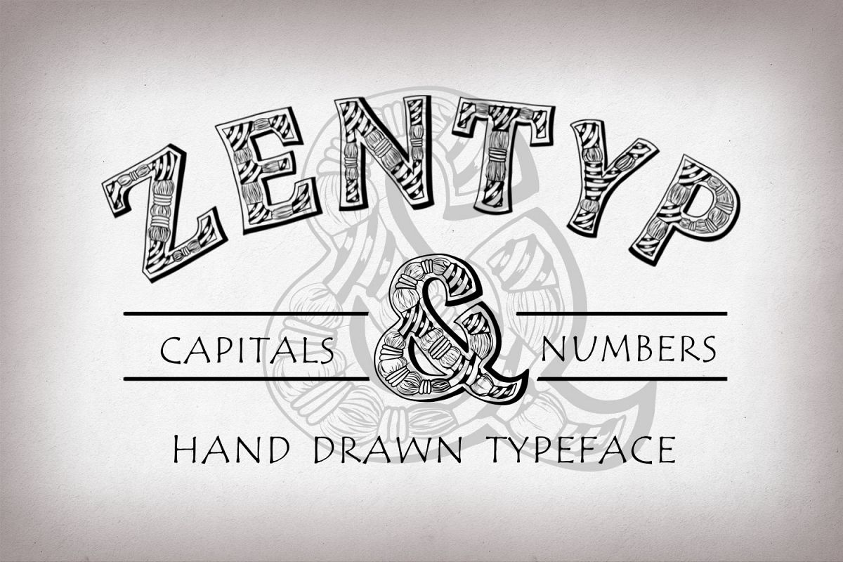 Zentyp font example image 1