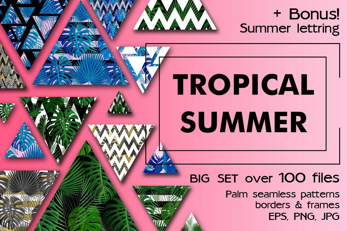 Tropical Summer Patterns + Bonus! example image 1