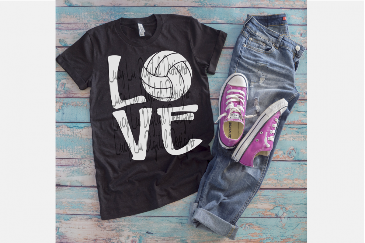 Volleyball Love example image 1