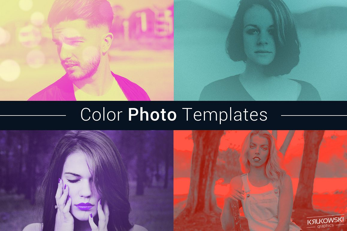Color Photo Template example image 1
