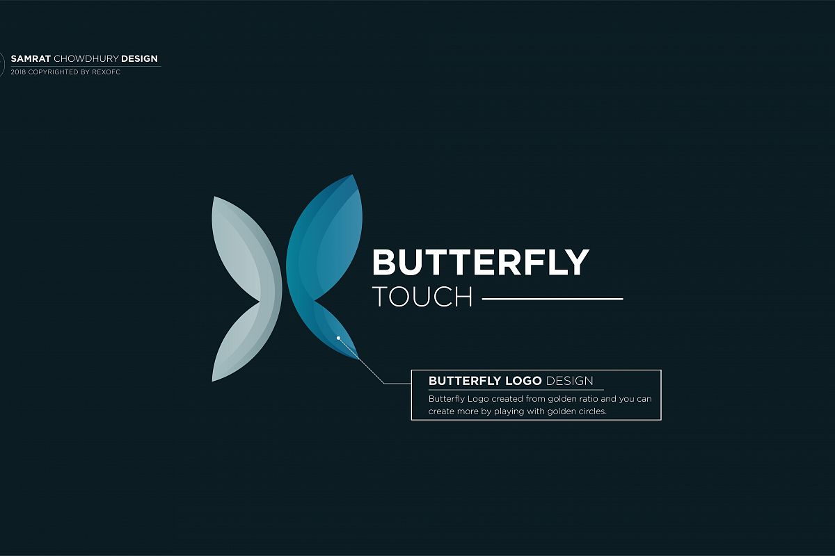 ButterFly Logo example image 1