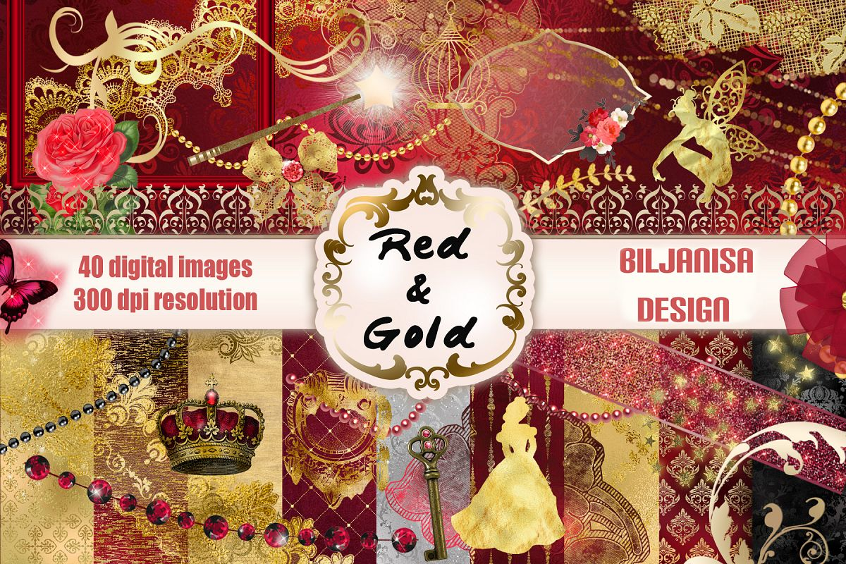 Red&Gold example image 1