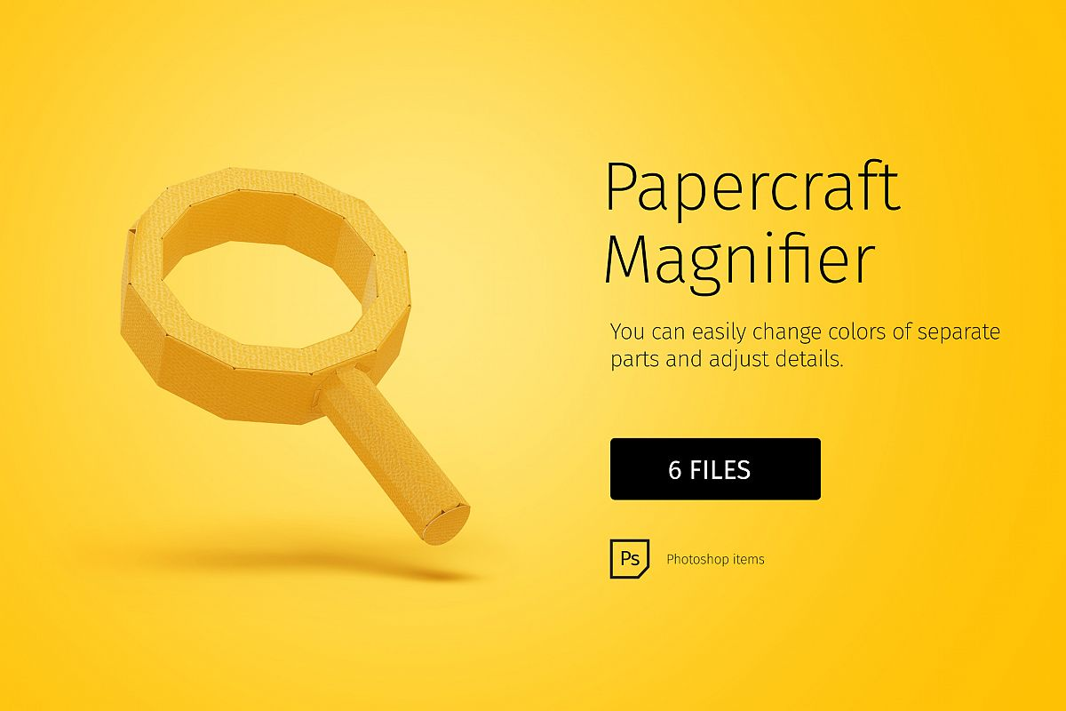 Papercraft Magnifier example image 1