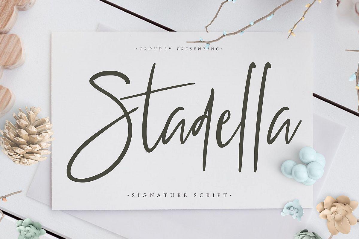 Stadella Signature Script example image 1