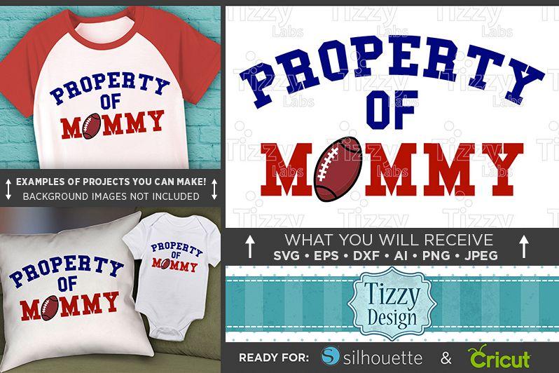 Football Shirt For Kids SVG - Football Designs SVG - 1017 example image 1