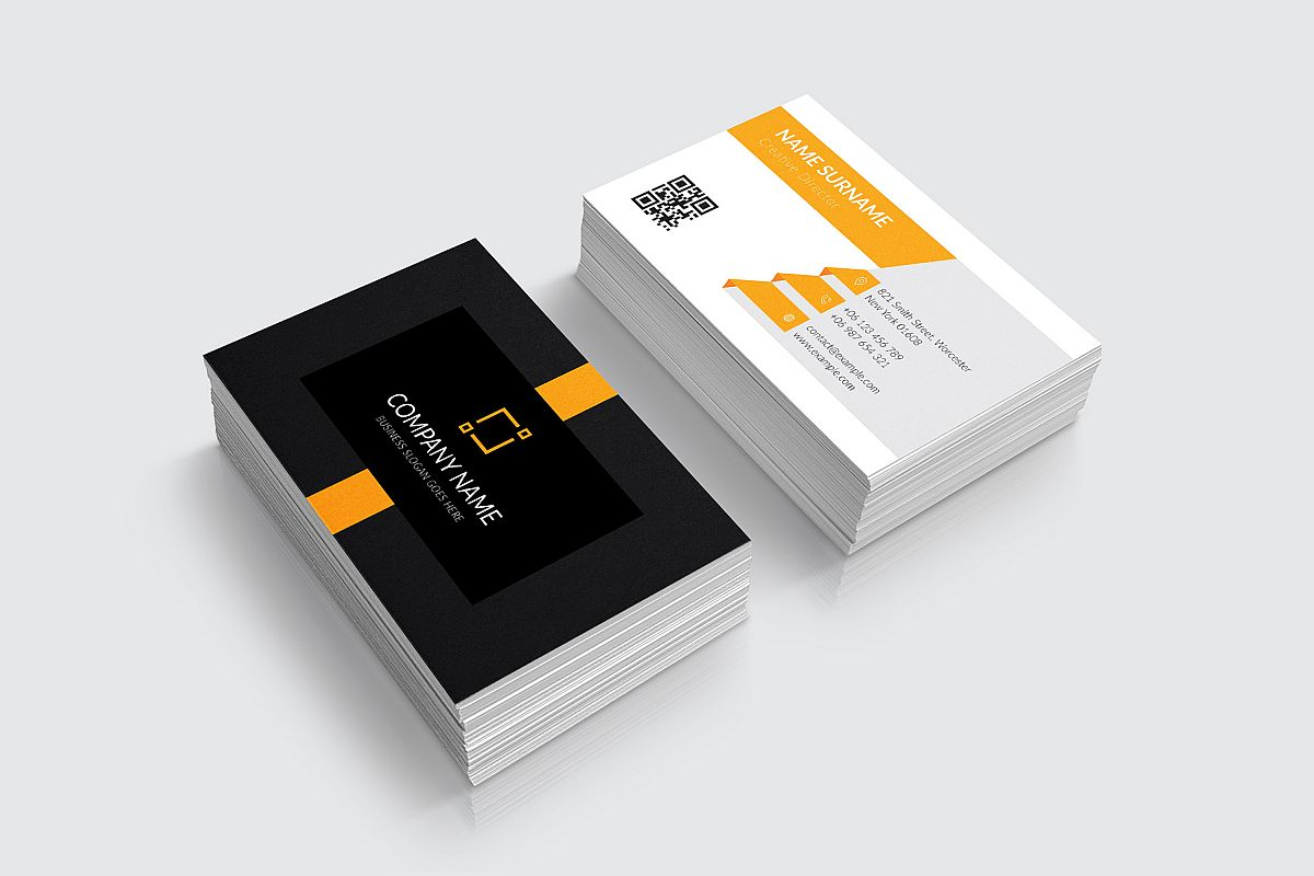 Modern and Elegant Business Card Design example image 1
