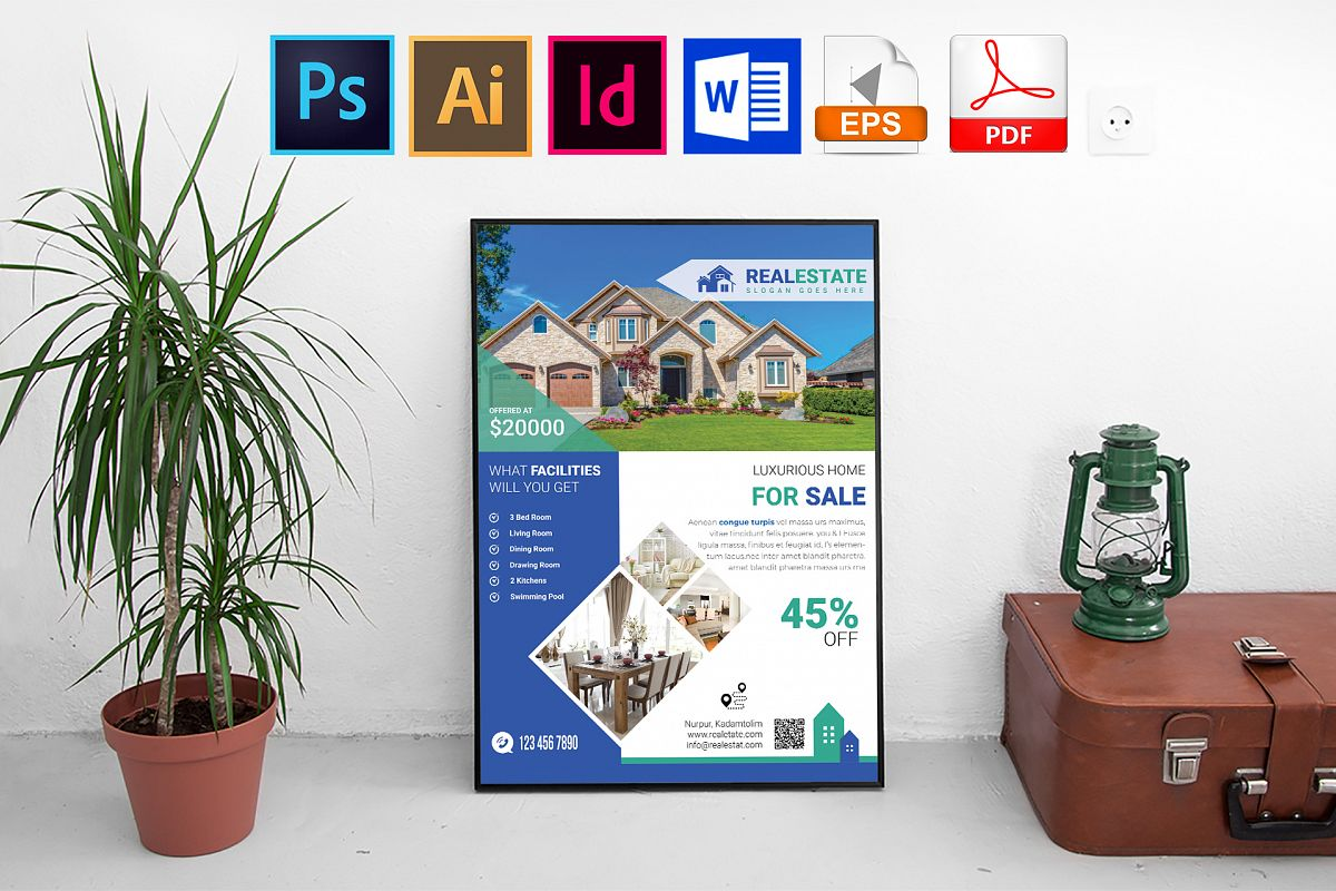 Poster |Real Estate Vol-03 example image 1