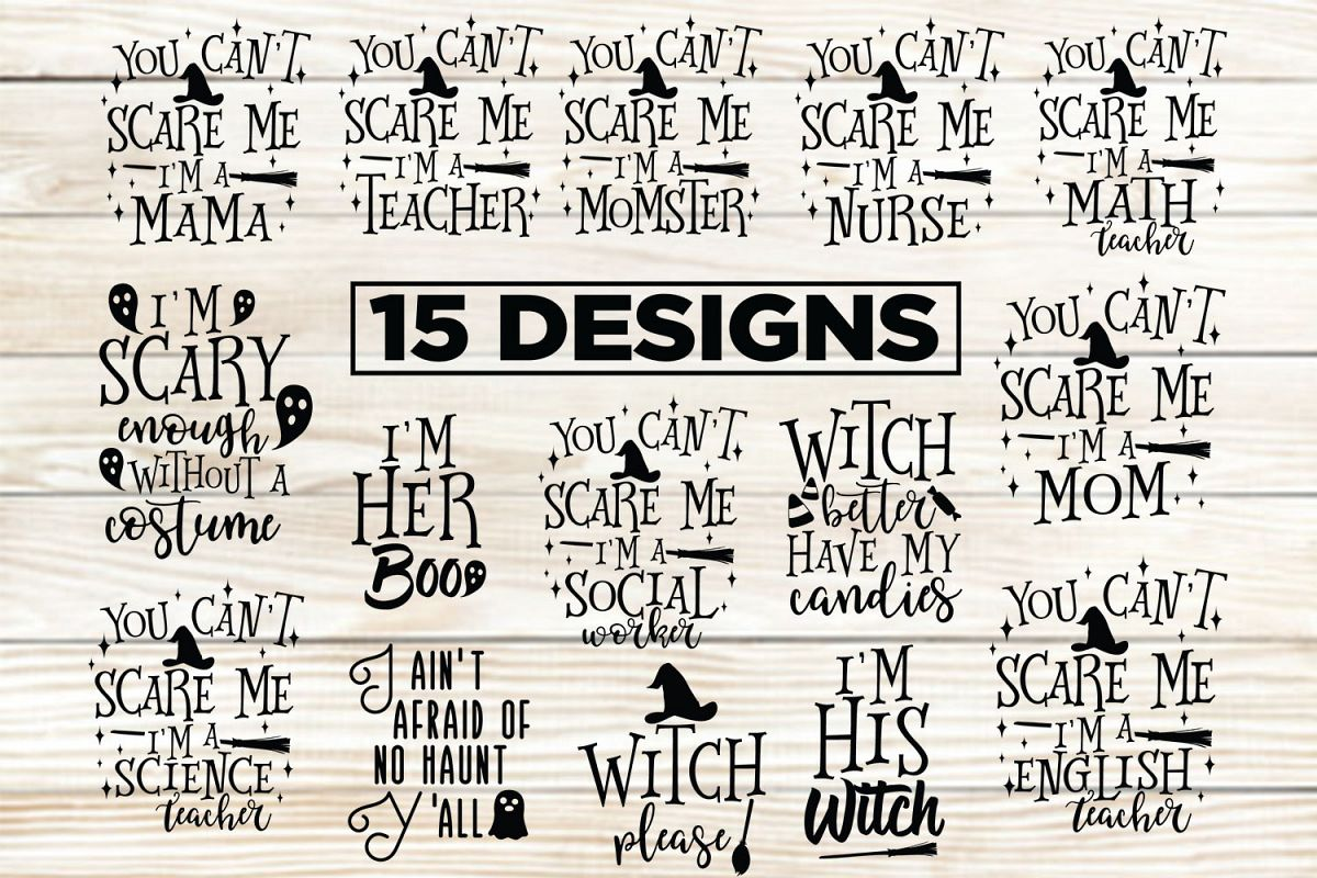 15 Halloween Designs 6 Halloween Printable example image 1