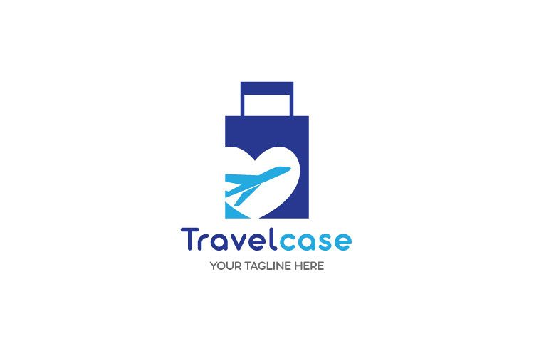 Travelling By Air Logo example image 1