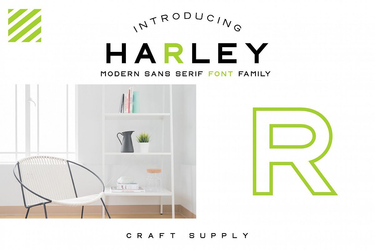 CS Harley Font Family example image 1