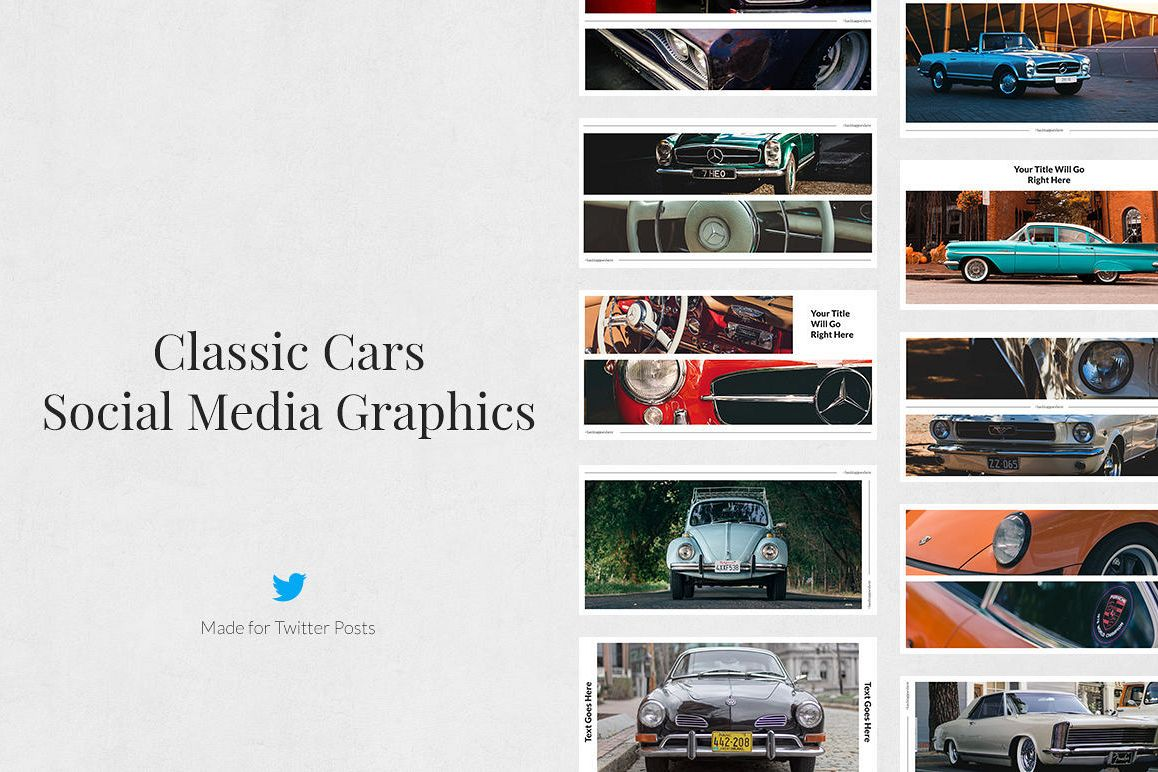 Classic Cars Twitter Posts example image 1
