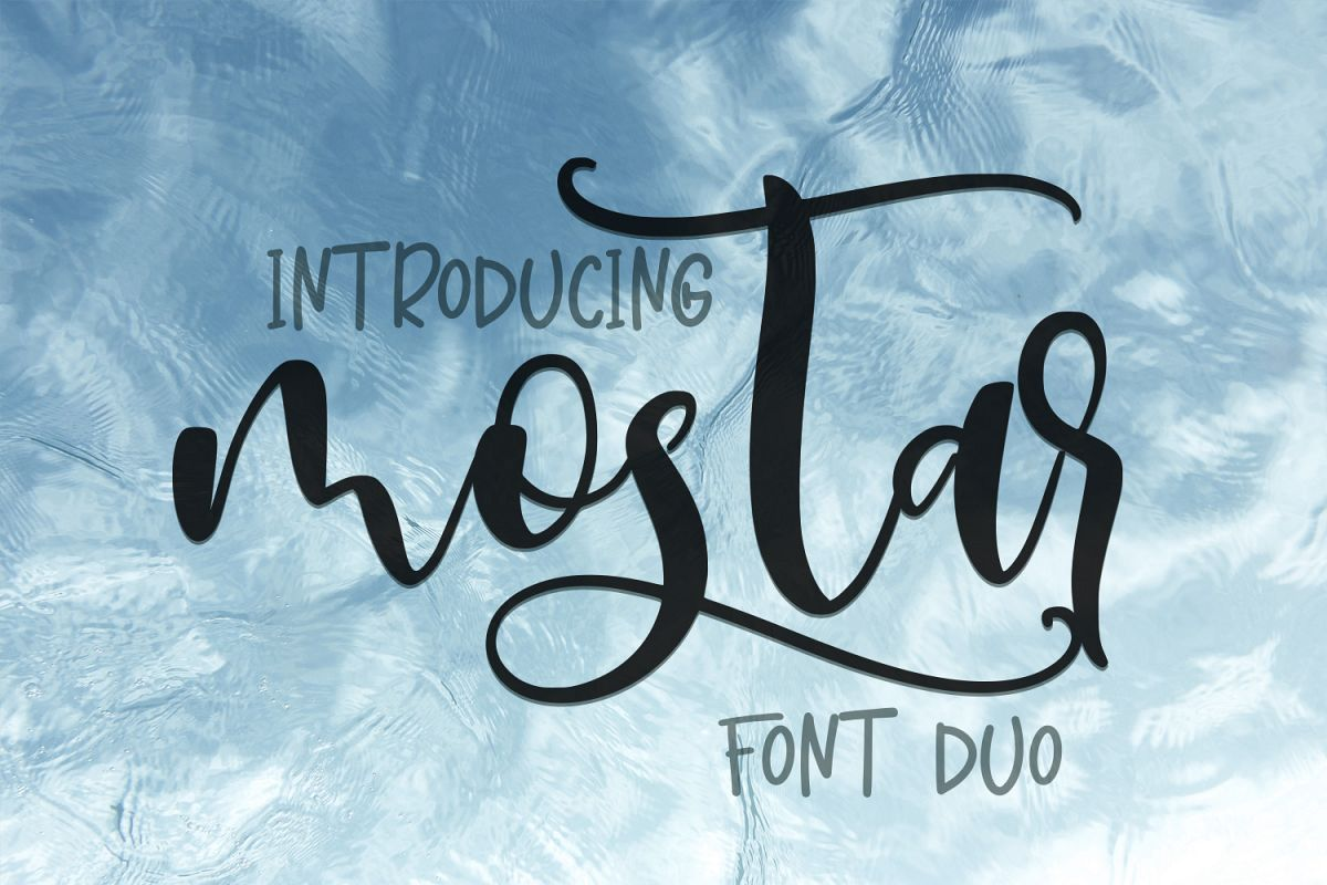 Mostar Font Duo example image 1
