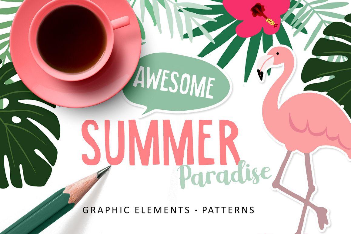 Summer Paradise set example image
