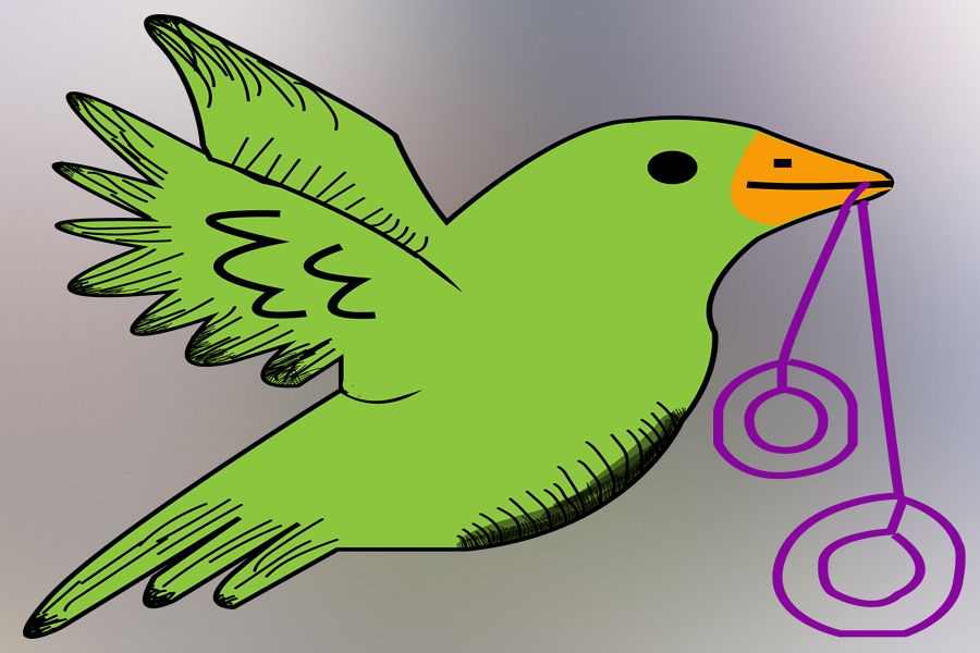 Bird Vector example image 1