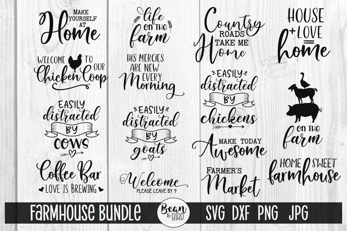 Farmhouse Bundle example image 1