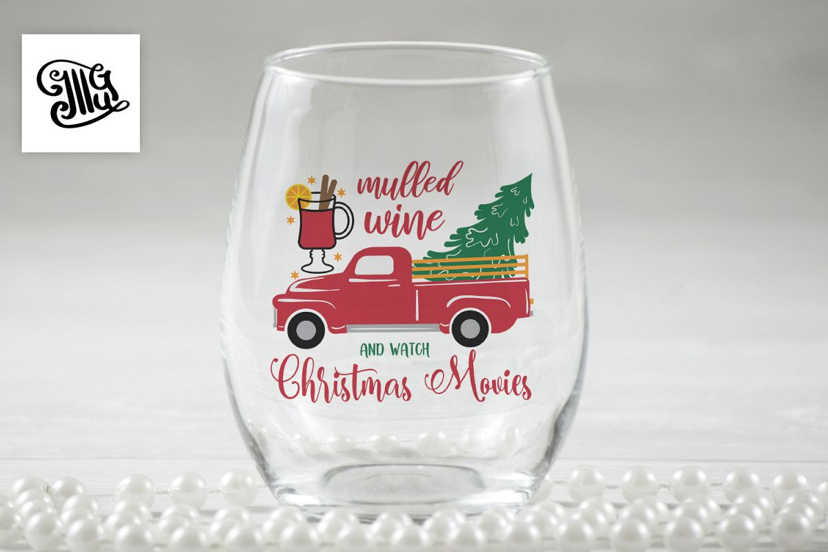 Mulled wine and Christmas movies - Christmas wine example image 1