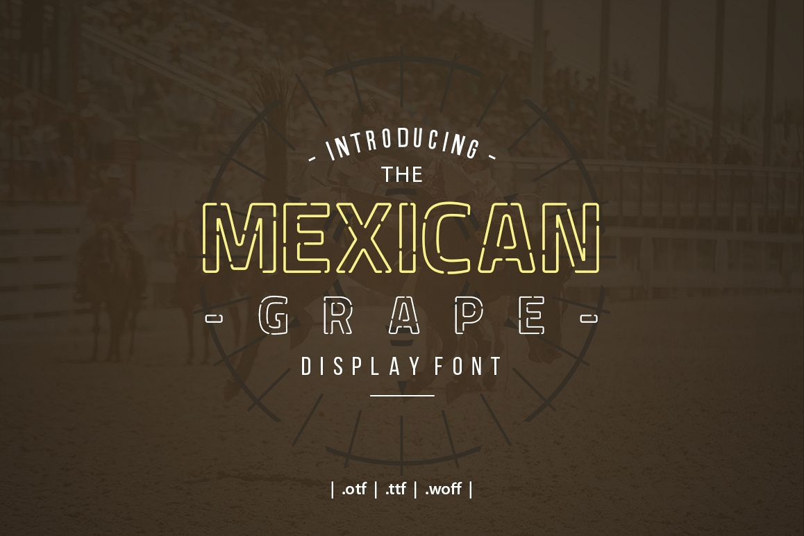 Mexican Grape Display Font example image 1