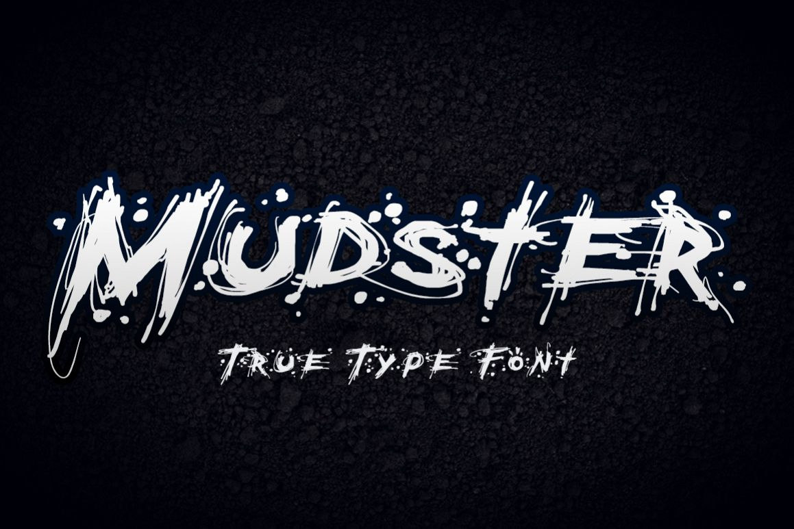 Mudster Font example image 1