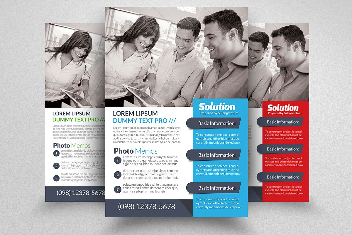 Business Insurance Agency Flyer example image 1
