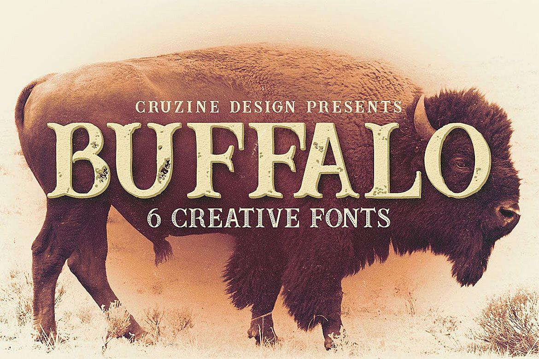 Buffalo Typeface example image 1