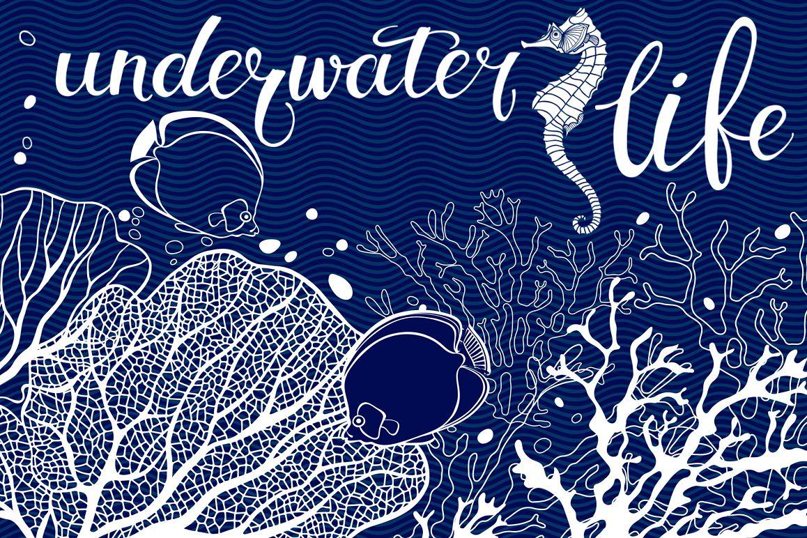 Underwater life. example image 1