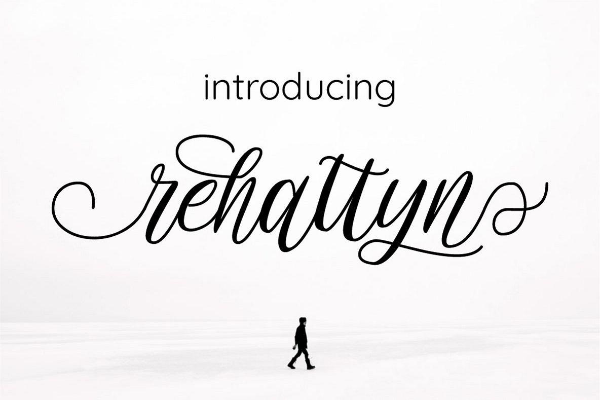 rehattyn | Bouncing Script example image 1