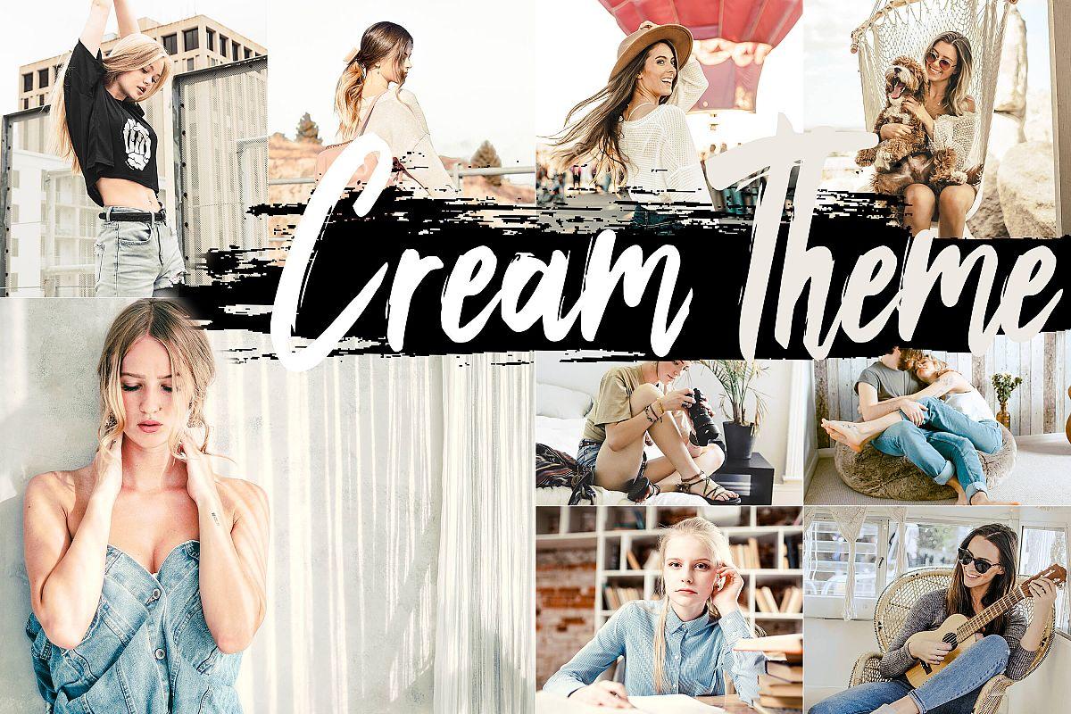 Neo Cream Theme Desktop Lightroom Presets example image 1