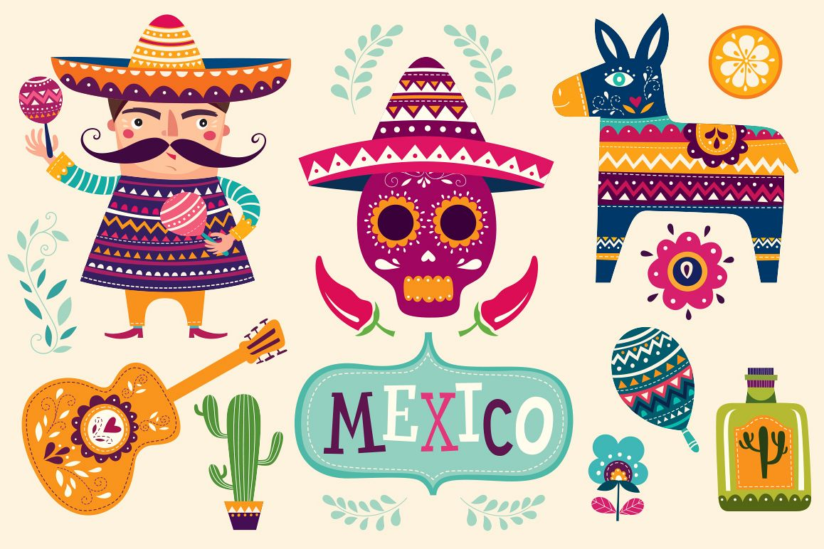 Mexican symbols example image 1