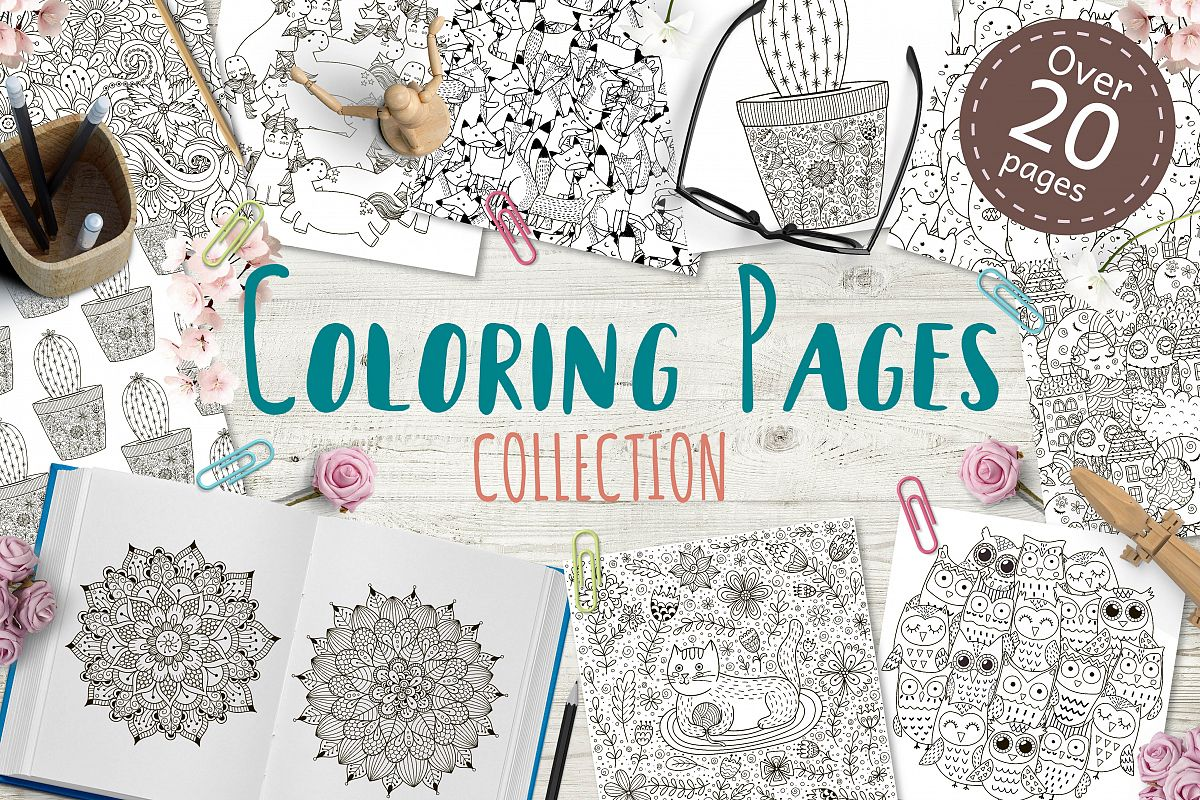 Coloring Pages New Collection example image 1