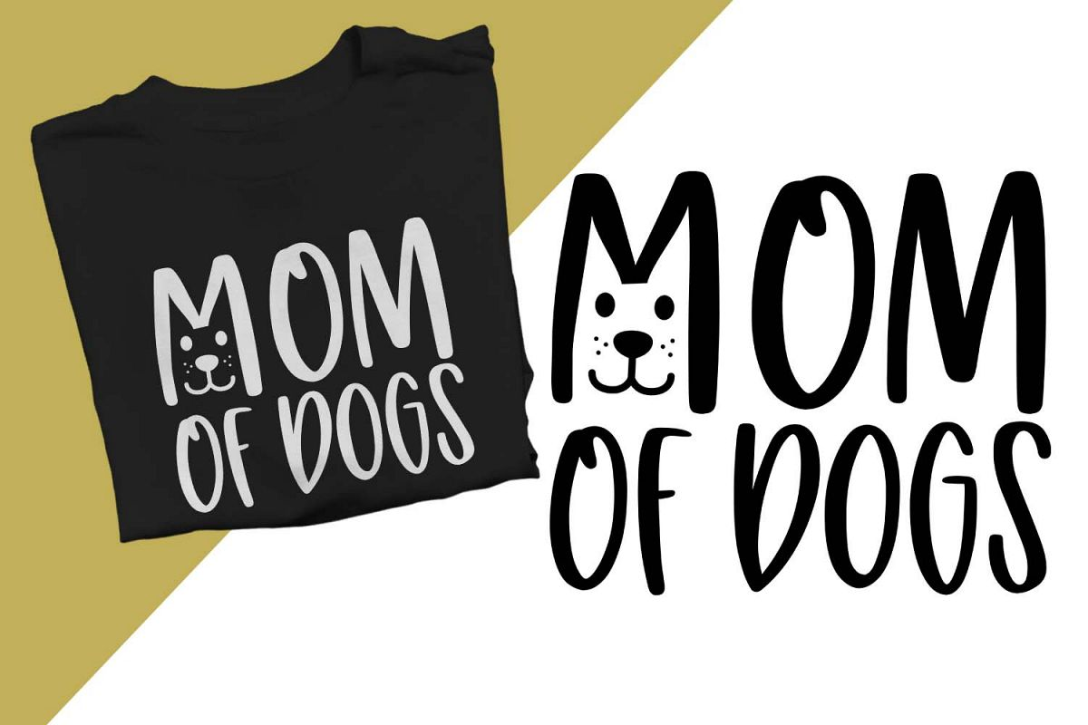 Mom of dogs Printable example image 1
