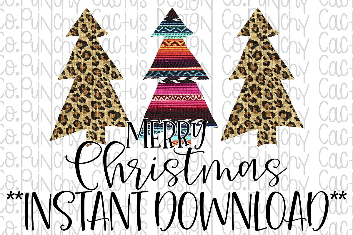 Merry Christmas Sublimation Download, Christmas example image 1