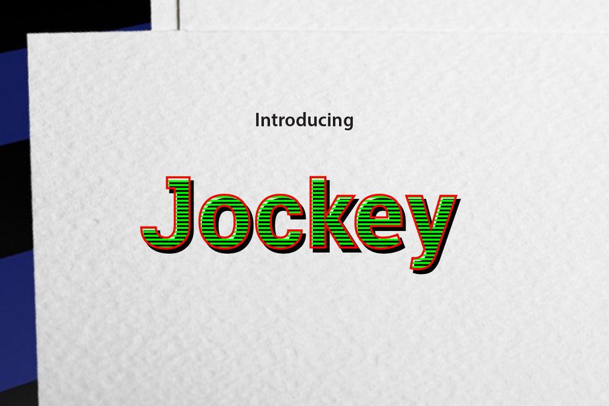 Jockey example image 1