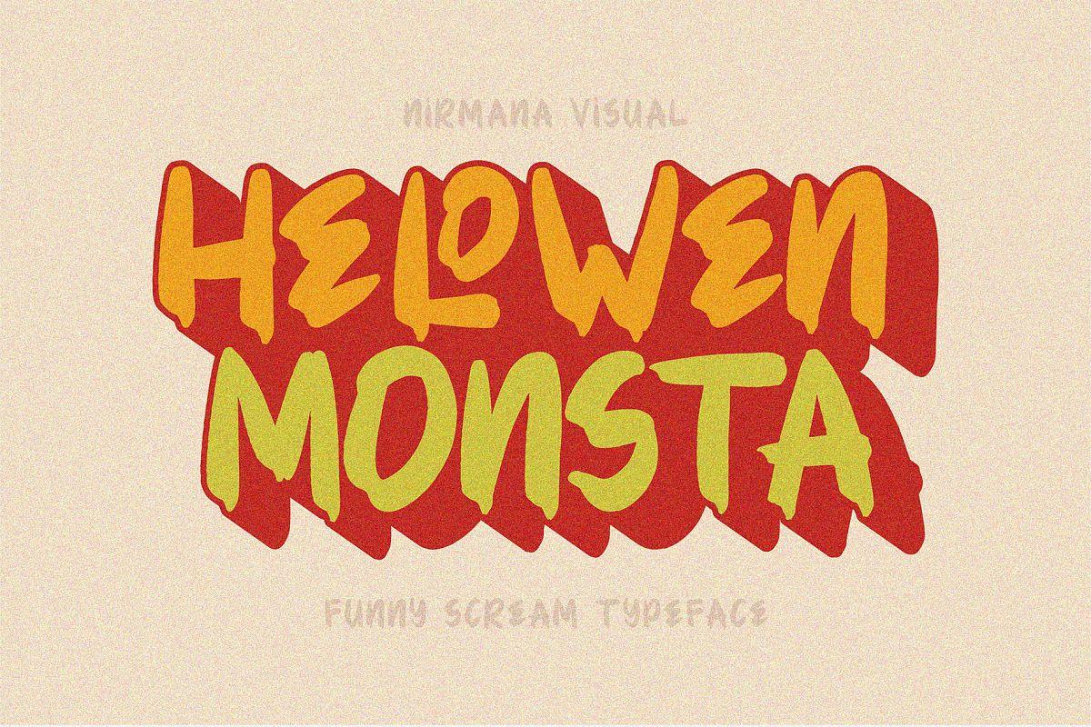 Hellowen Monsta example image 1