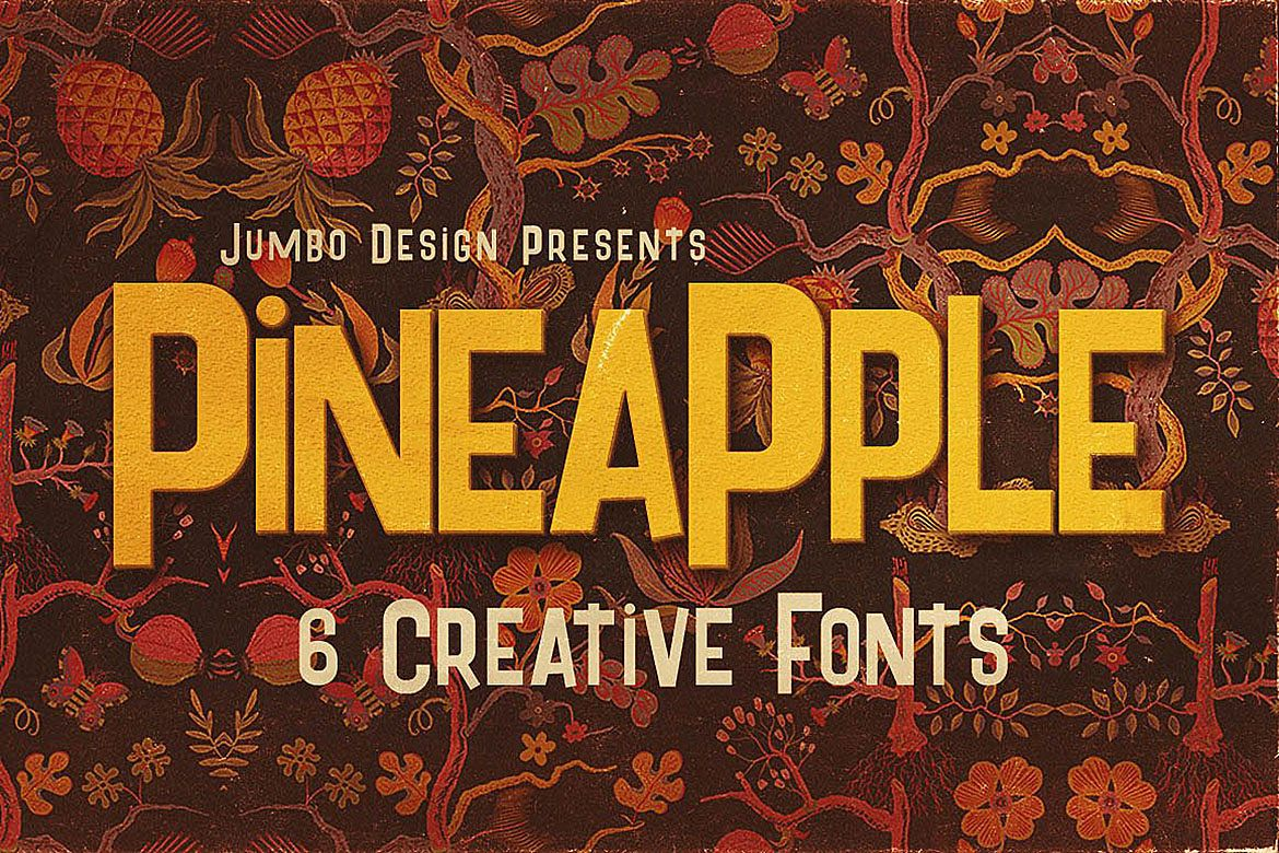 Pineapple - Funny Style Font example image 1