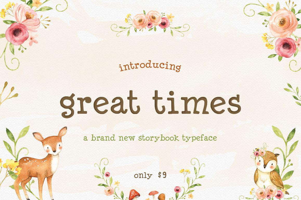 Great Times Font example image 1