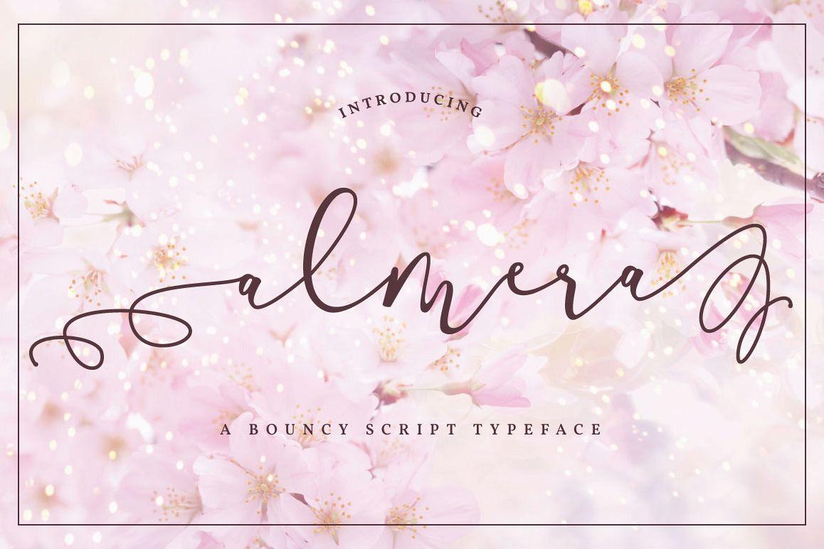 Almera Typeface example image 1