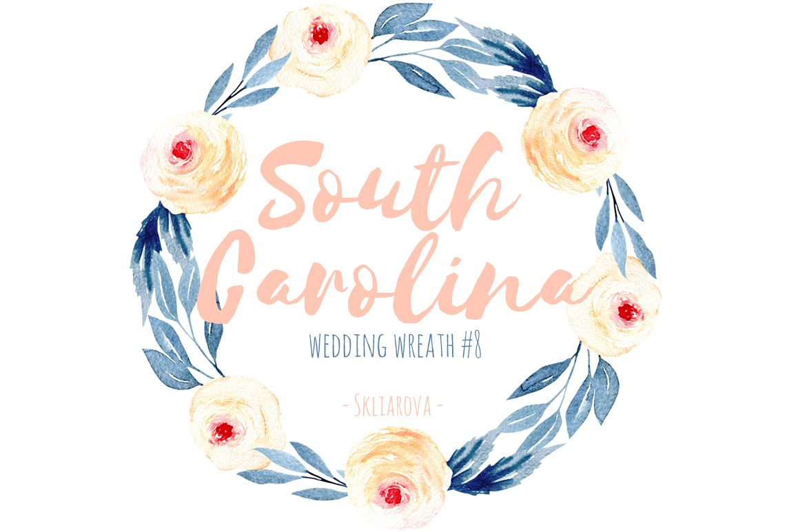 South Carolina. Wreath #8 example image 1