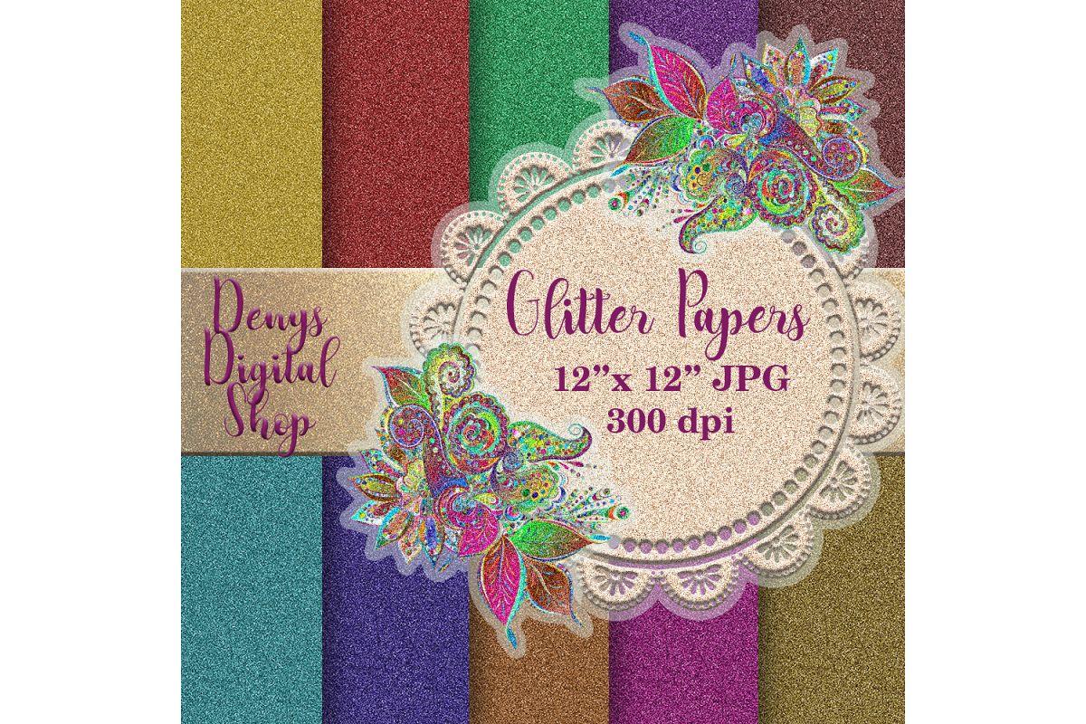 glitter paper glitter digital paper g design bundles