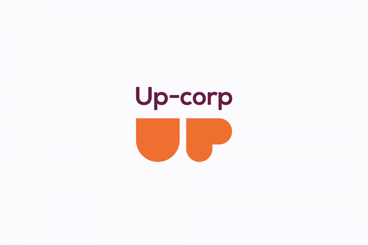 UP corp logo example image 1