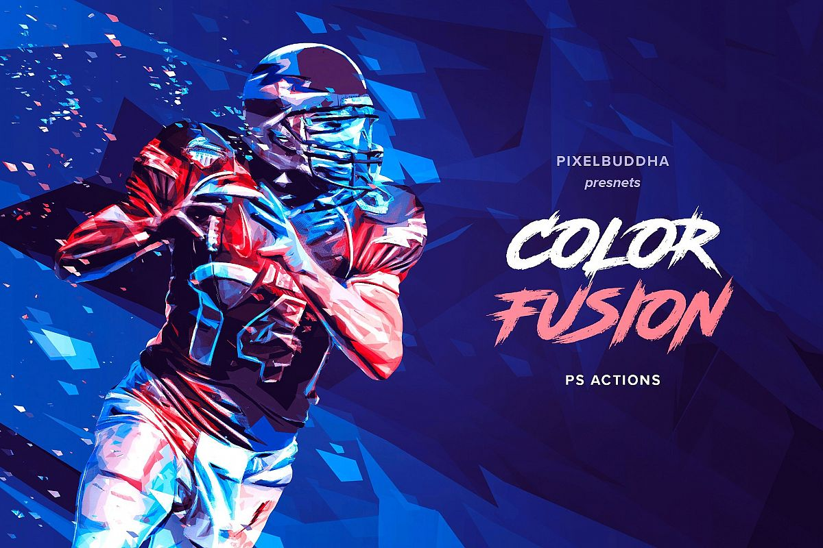 Color Fusion Photoshop Actions example image 1