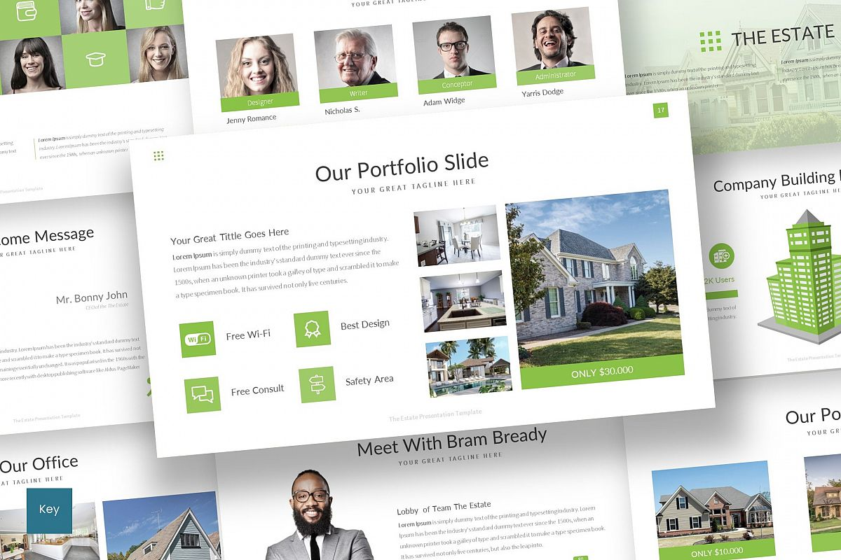 The Estate - Keynote Template example image 1