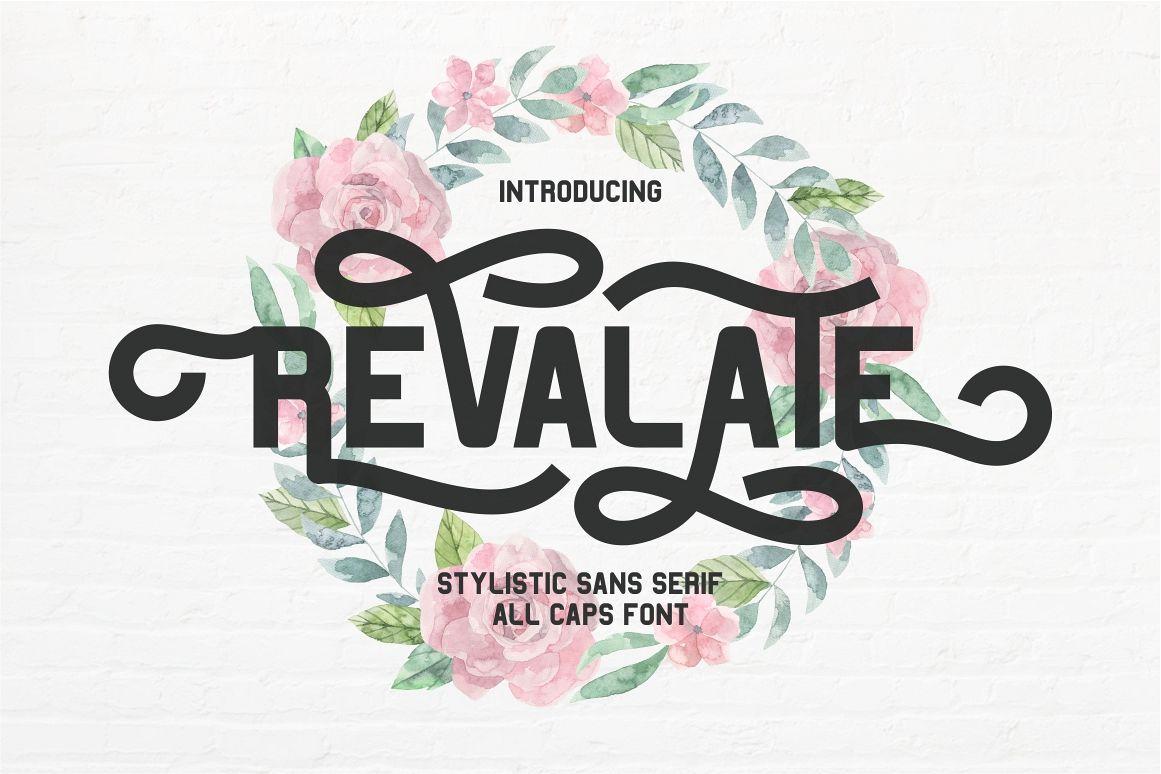 Revalate - Stylistic Sans Serif example image 1