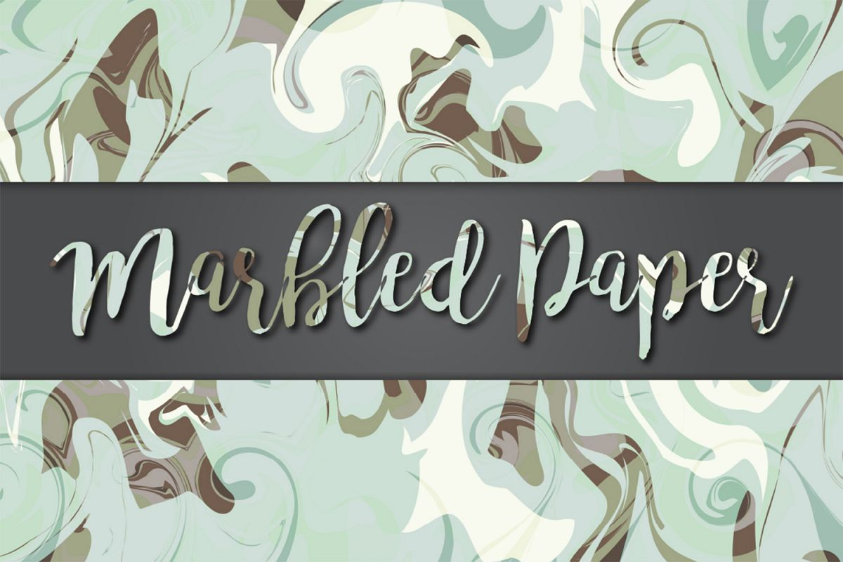 Marbled Paper No9 example image 1
