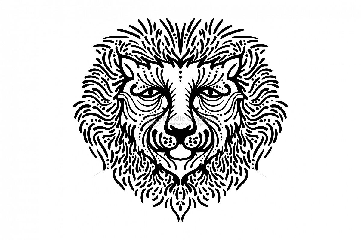 Lion - King of Forest example image 1