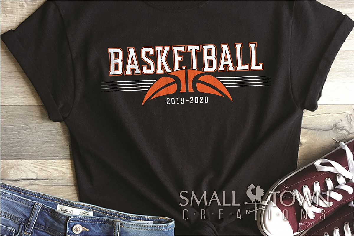 Basketball, Sports ball, sport team logo, PRINT, CUT, DESIGN example image 1