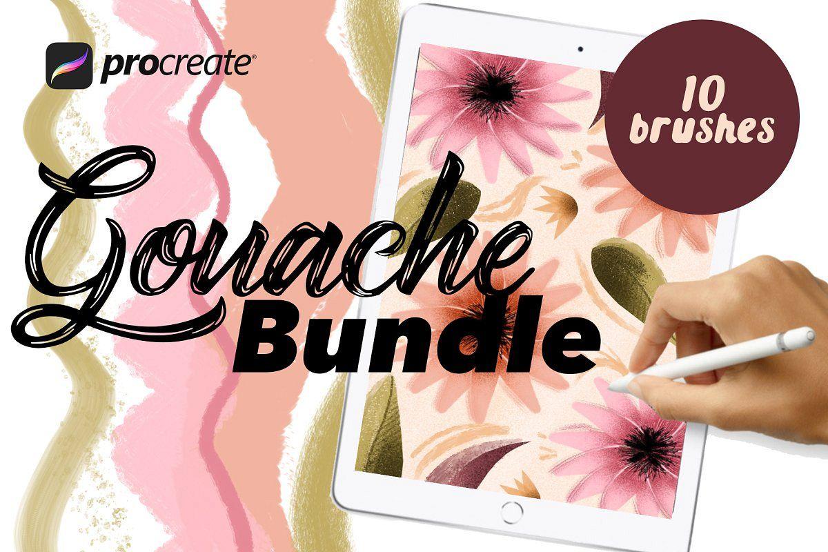 Gouache Bundle for Procreate example image 1