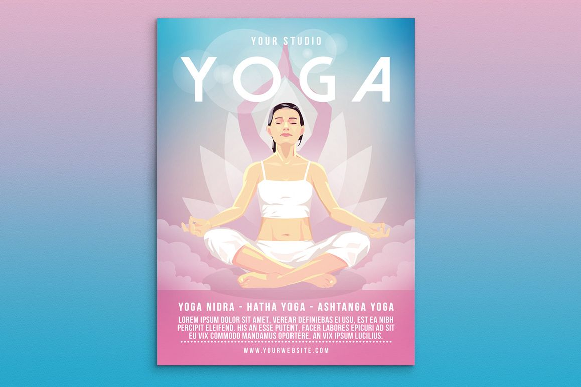 Yoga Flyer Poster Example Image