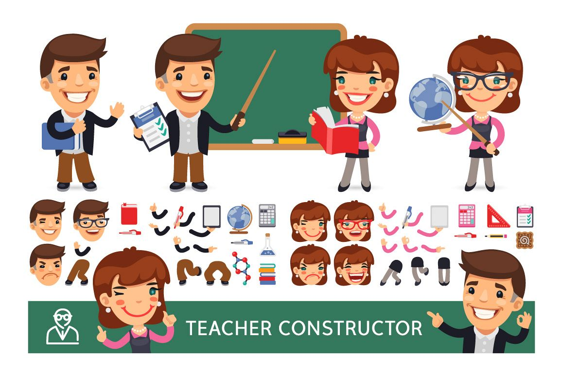 Teacher Character Constructor example image 1