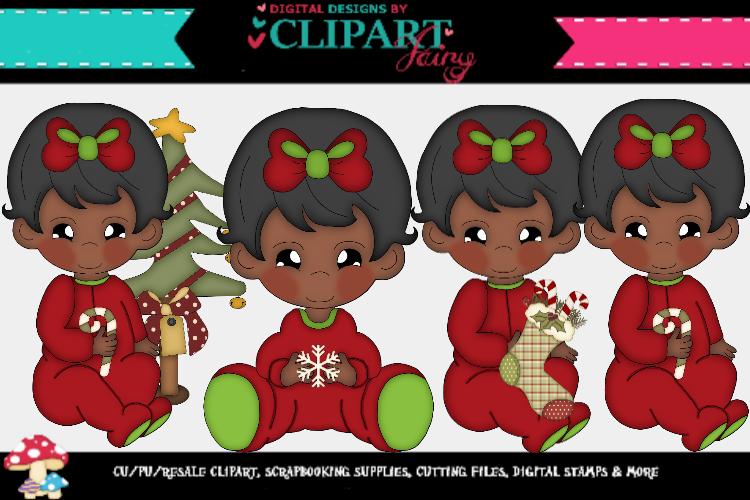 Baby Girl Christmas 1 example image 1