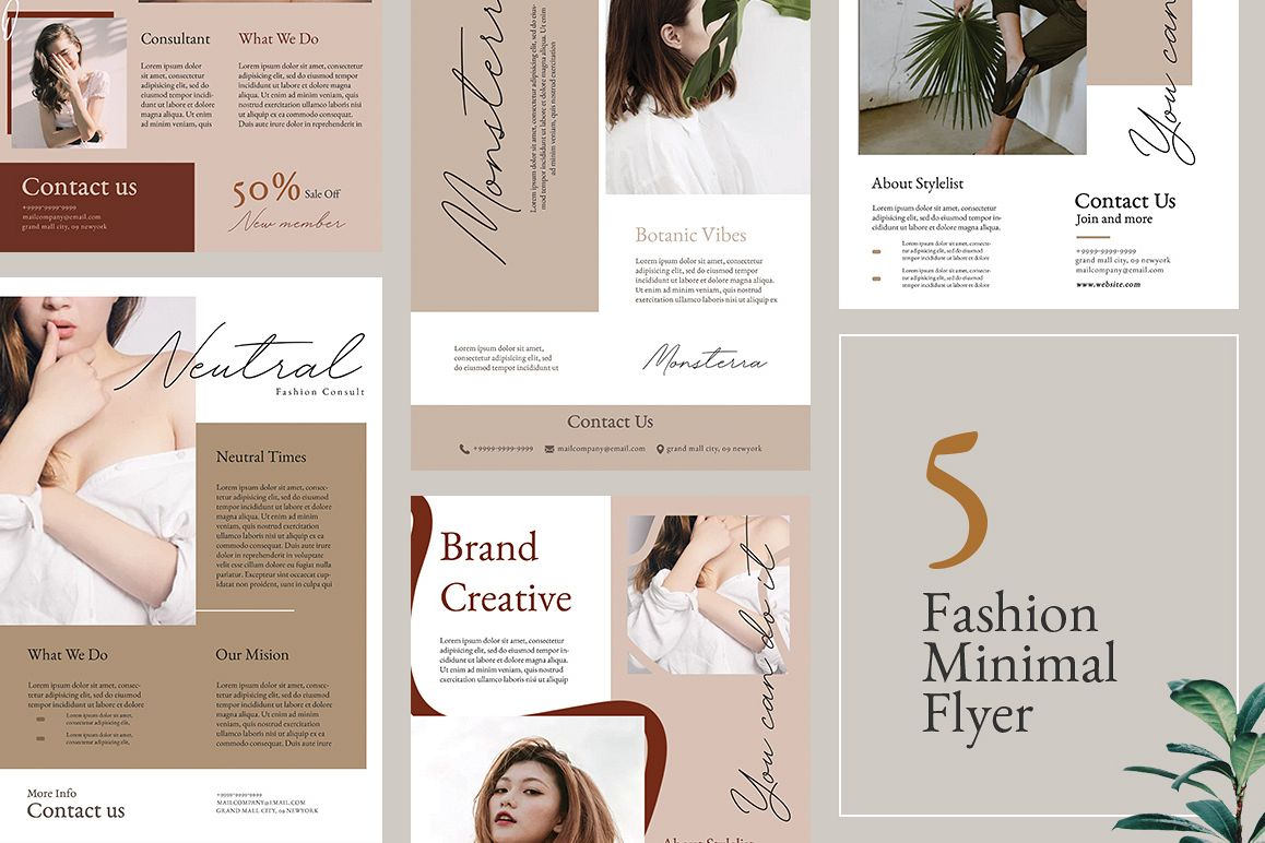 Neutral Flyer Templates example image 1